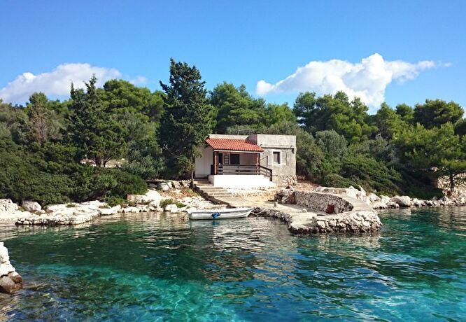 Maison de p cheur croatie location vacances parc for Acheter une maison en croatie